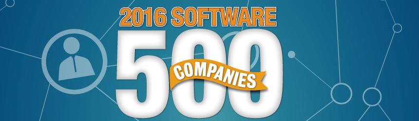 2016 Software 500 Companies | Software Magazine